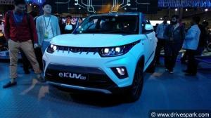 Auto Expo 2018: Mahindra eKUV100 (EV) Showcased; Expected Launch Date & Price, Specs & More