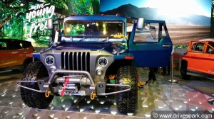 Auto Expo 2018: Mahindra Thar Wanderlust Showcased - Specifications, Features & Images