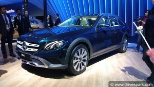 Auto Expo 2018: Mercedes E-Class All Terrain Showcased - Expected Launch, Specs, Features & Images