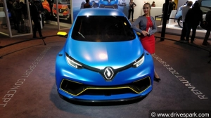 Auto Expo 2018: Bonkers Renault Zoe E-Sport Concept Hot Hatchback Showcased