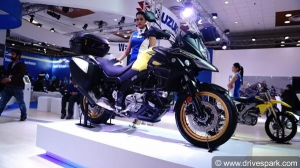 Auto Expo 2018: Suzuki V-Strom 650 Showcased - Expected Launch Date & Price, Specifications, Images
