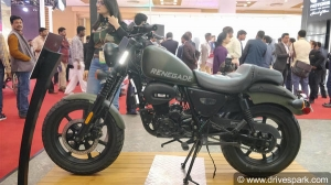 Auto Expo 2018: UM Renegade Duty S & Duty Ace Launched At Rs 1.10 Lakh - Specs, Features & Images