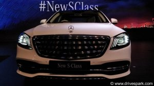 2018 Mercedes-Benz S-Class Launch Highlights: Price, Specifications, Features & Images