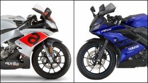 Aprilia RS 150 Vs. Yamaha R15 V3 Comparison: Design, Specs, Features And Price