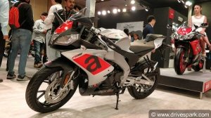 Aprilia RS 150 First Look Review — The RSV4 In A Compact Package!