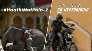 Video: Bajaj Dominar 'Haathi Mat Paalo' Part 2 Ads Takes A Sly Dig At Royal Enfield