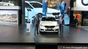 Auto Expo 2018: Sachin Launches BMW 6 Series GT In India - Priced At Rs 58.9 Lakhs