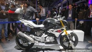 Auto Expo 2018: BMW G 310 R Showcased - Specifications, Features & Images