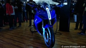 Auto Expo 2018: Emflux One Electric Superbike Launched In India At Rs 6 Lakh - Specs, Range & Images