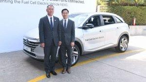 Hyundai Nexo FCEV Electric SUV Showcased In India