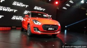Auto Expo 2018: New Maruti Swift 2018 Launched At Rs 4.99 Lakh - Price, Specs, Mileage, Colours