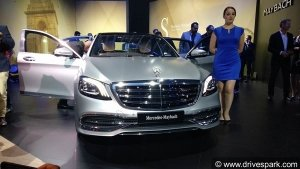 Auto Expo 2018: Mercedes-Maybach S650 Launched In India At Rs 2.73 Crore