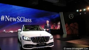 2018 Mercedes S-Class Facelift Launched In India; Prices Start At Rs 1.33 Crore