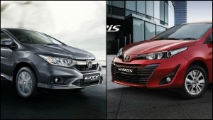 Toyota Yaris Vs. Honda City Comparison: Design, Specifications, Features & Mileage