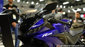 Yamaha Bikes & Scooters At Auto Expo 2018; R15 V3,0, YZF-R3, MT-09 & More