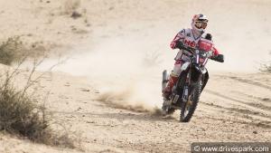 Maruti Suzuki Desert Storm 2018: CS Santosh Crashes Out In Stage 3