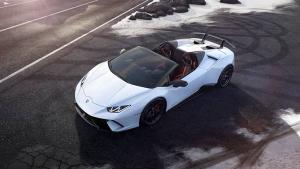 2018 Geneva Motor Show: Lamborghini Huracan Performante Spyder Unveiled — Specs, Features & Images