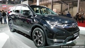 India-Spec New Honda CR-V Diesel Specifications Revealed: Power Output, Features & Rivals