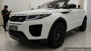 Range Rover Evoque Convertible Launched In India; Priced At Rs 69.53 Lakh