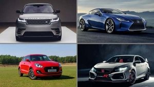 2018 World Car Of The Year Top Three Finalists Announced At Geneva Motor Show