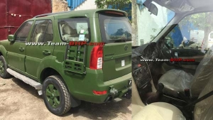 Tata Safari Storme Army Edition Deliveries Begin — More Details Revealed