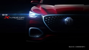 MG Motor Tease New X-Motion SUV Concept — Possible Launch In India?