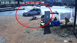 Accident Video Shows Why You Should Slow Down Near Junctions On Highways