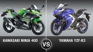 Kawasaki Ninja 400 Vs. Yamaha YZF-R3 Comparison: Design, Specifications, Features & Price