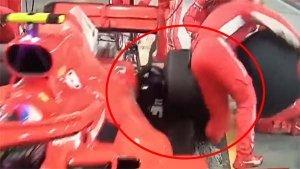 Formula One: Ferrari Mechanic Suffers Fracture; Team Fined 50,000 Euros For Unsafe Release
