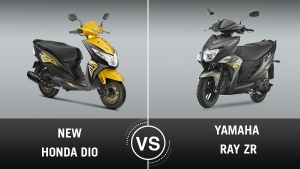 2018 Honda Dio Vs Yamaha Ray ZR Comparison: Design, Specifications, Features, Price And Mileage