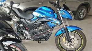 Suzuki Gixxer ABS Spotted Ahead Of Launch — To Be The Cheapest ABS-Equipped Bike In India