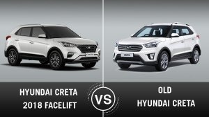 Hyundai Creta 2018 Facelift Vs Old Creta: Key Differences In Design, Specifications And Features