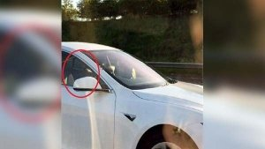 Indian-Origin Man Gets Banned From Driving In The UK — Cruises In Tesla From The Passenger Seat!