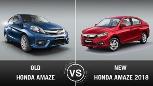 New Honda Amaze 2018 Vs Old Amaze: What Is The Difference?