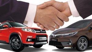 Toyota To Localise The Production Of Maruti Vitara Brezza And Baleno