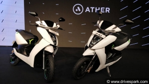 Ather 340 & 450 Electric Scooters Launched In India; Prices Start At Rs 1.09 Lakh