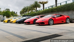 Lamborghini GIRO 2018 — Highlights From This Year's Bull Run By Lamborghini Bengaluru