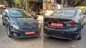 2018 Maruti Ciaz Facelift Spotted Again — Interior Revealed