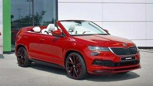 Skoda Sunroq Concept Revealed — A One-Off Cabriolet Concept