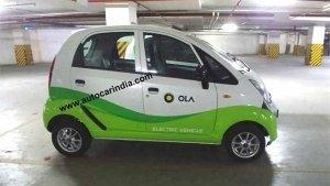 Tata Nano Electric aka Jayem Neo EV Spotted — The Latest Addition To The Ola Cabs Fleet
