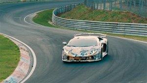 Lamborghini Aventador SVJ Makes New Nürburgring Lap Record, Just Like That