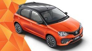 Toyota Etios Liva Gets A New Dual-Tone Colour Scheme