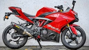 Akrapovic Launches Racing Exhaust System For The TVS Apache RR 310