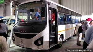 Force 33/41 Traveller Monobus Launched In India — Features The First Monocoque Chassis In Its Class