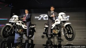 TVS Radeon Launched in India; Priced At Rs 48,400