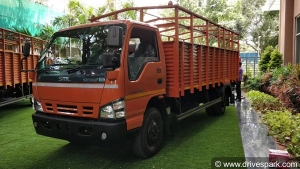 SML Isuzu Launches New Global Series Of Trucks In Bangalore