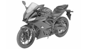 2019 Yamaha YZF-R3 Patent Images Leaked — Gets LED Headlights And USD Forks
