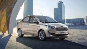 New Ford Aspire Facelift Bookings Open Ahead Of Launch