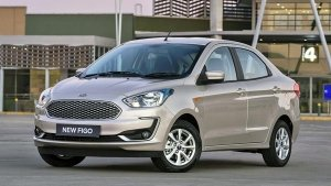 New Ford Aspire Facelift Spotted Undisguised Ahead Of Launch; To Rival The Honda Amaze