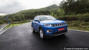 Jeep Compass Limited Plus Model Spotted With Sunroof — Launch Next Month